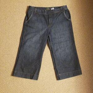 Eddie Bauer Wide Leg Crop Jean